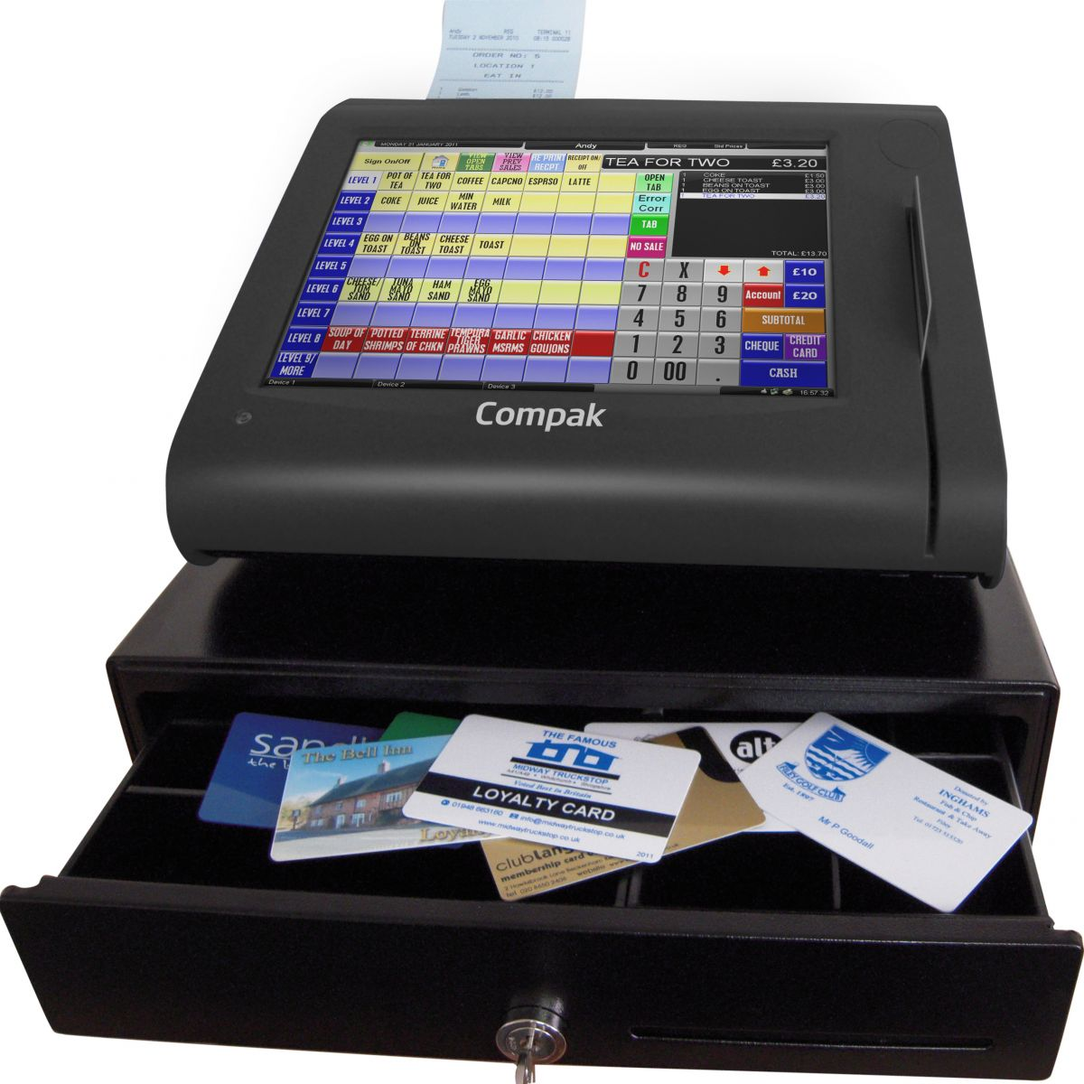 epos and eftpos This article will give you an overview of the pros and cons of using an epos system in your business, rather than just a traditional cash till.