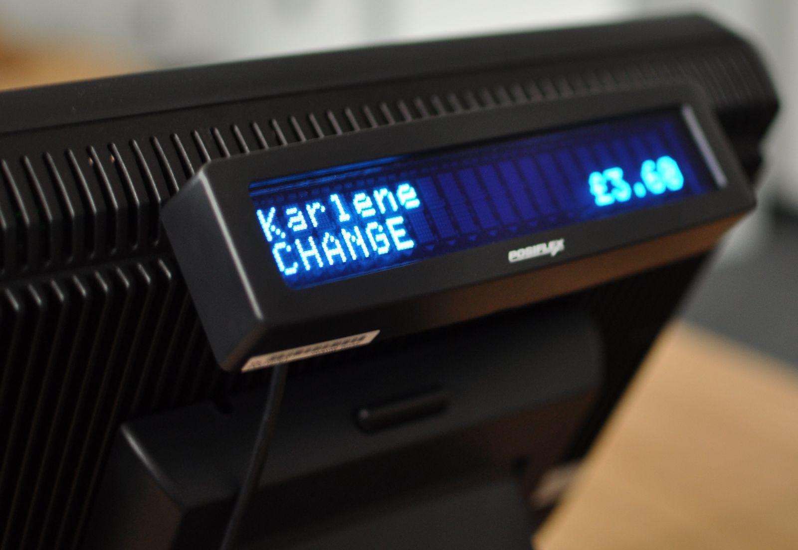 Posiflex KS-6715 Customer Display