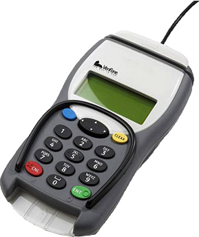 Verifone Secura Chip and Pin Pad