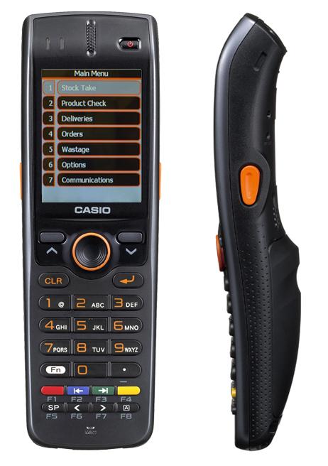 Casio Dt X7 running TouchStock