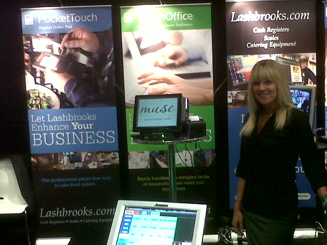 Lashbrooks Exhibition Stand