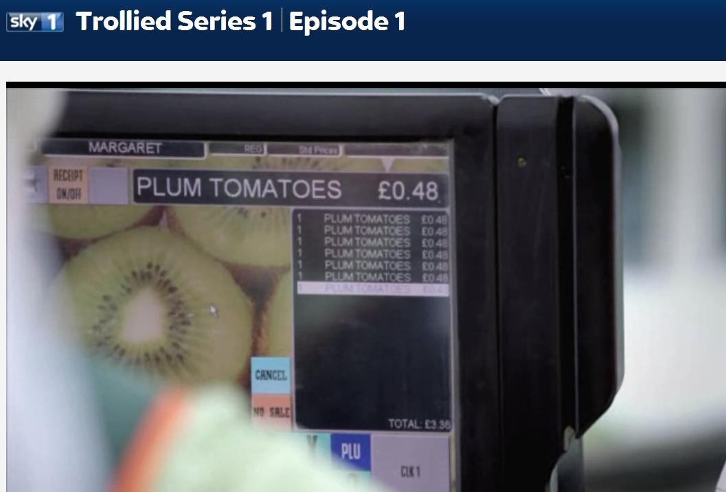 TouchPoint being used in Valco from Sky 1's Trollied :)