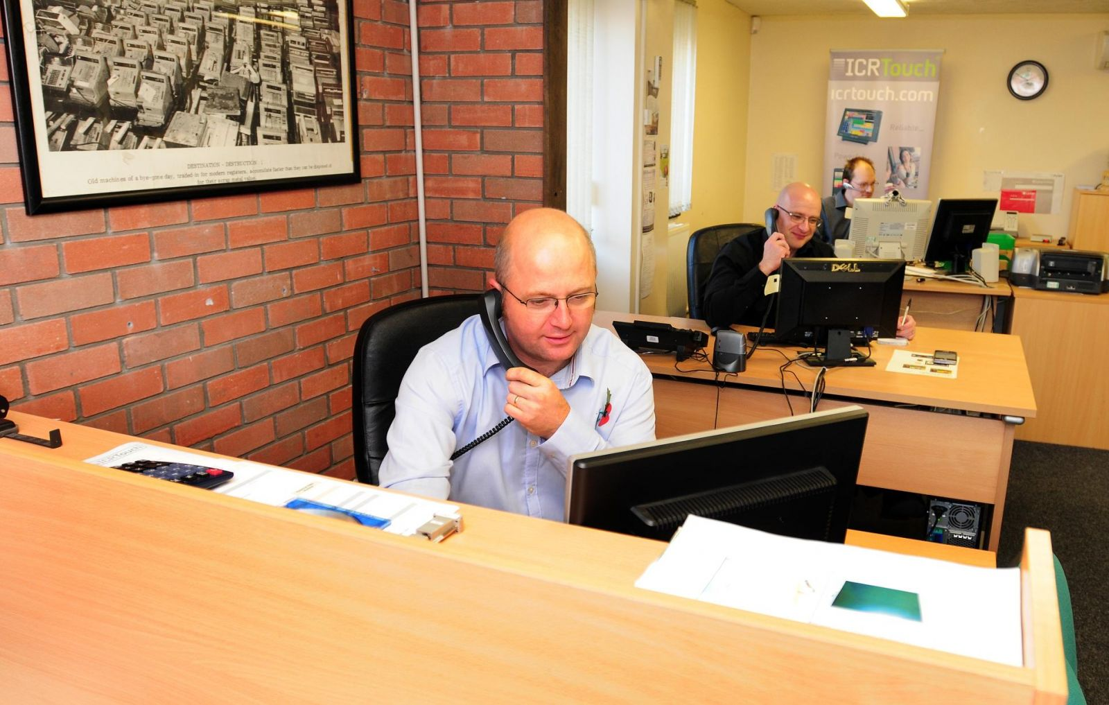 Some of our EPoS technical support team