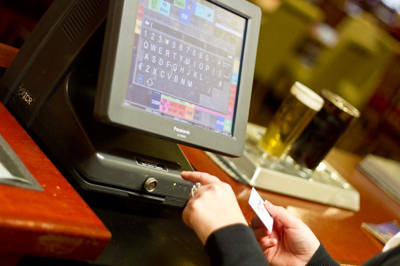 Panasonic touch terminal