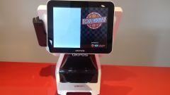 OKPOS Z9000 rear display